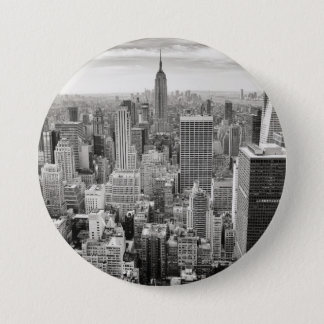 Manhattan from Above Pinback Button