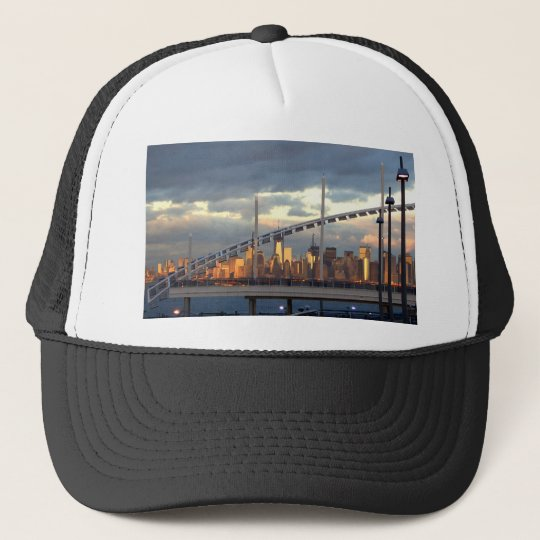 Manhattan from Staten Island  2 CricketDiane Stuff Trucker Hat