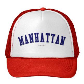 Manhattan Gorras De Camionero