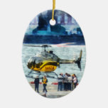 Manhattan Heliport Christmas Ornaments