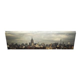 Manhattan hermosa lona estirada galerías