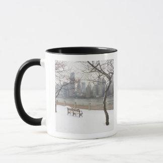 Manhattan in the Winter Mug