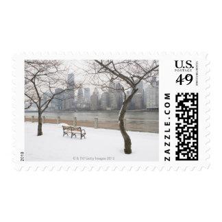 Manhattan in the Winter Postage