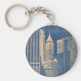 Manhattan Keychain