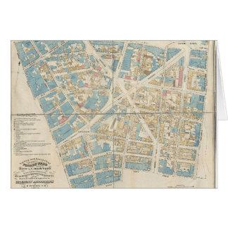 Manhattan Map Card