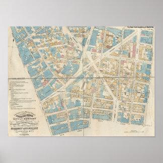 Manhattan Map Poster