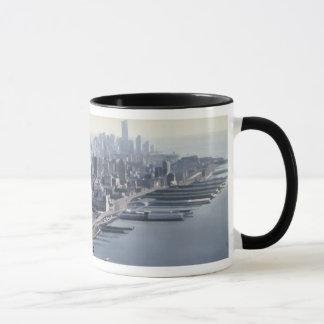 """""""Manhattan Memories"""" New York Watercolor Art Mug"""