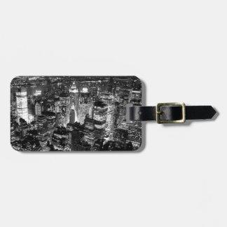 Manhattan New York City Bag Tag