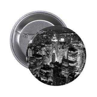 Manhattan New York City Pin Redondo 5 Cm