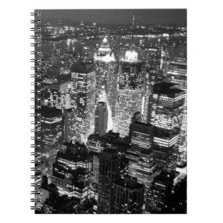Manhattan New York City Spiral Notebook