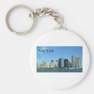 Manhattan New York City (St.K) Llavero Redondo Tipo Pin