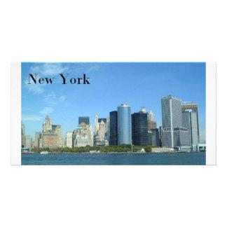 Manhattan New York City St K Custom Photo Card