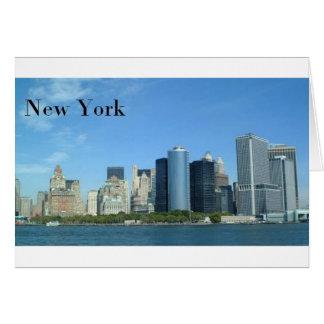 Manhattan New York City (St.K) Tarjeta De Felicitación