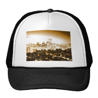 Manhattan New York Mesh Hat