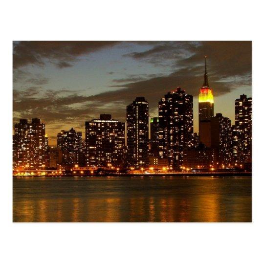 Manhattan, New York Postcard