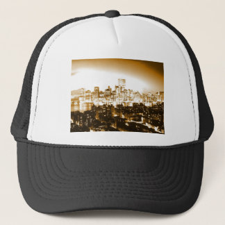 Manhattan New York Trucker Hat
