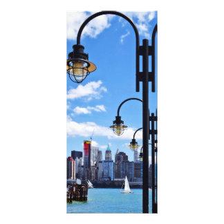 Manhattan, NY - horizonte del parque de estado de Lonas Personalizadas