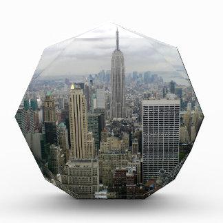 Manhattan, NYC Acrylic Award