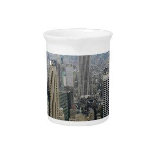 Manhattan, NYC Beverage Pitcher