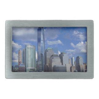 Manhattan NYC World Trade Center WTC Hudson River Belt Buckle