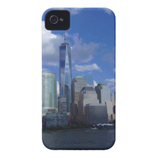 Manhattan NYC World Trade Center WTC Hudson River iPhone 4 Case-Mate Cases