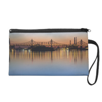 Manhattan Over the East River. Wristlet Purse