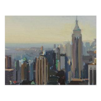 Manhattan Panorama 2012 Postcard
