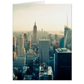 Manhattan Photo Card