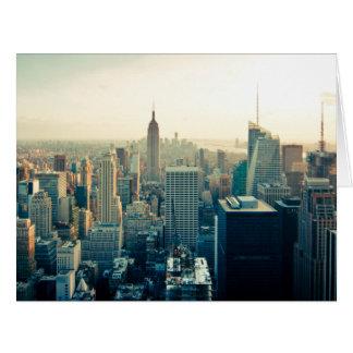 Manhattan Photo Greeting Cards