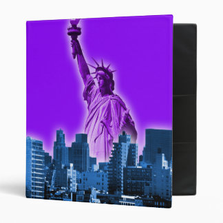 Manhattan - Purple Binder