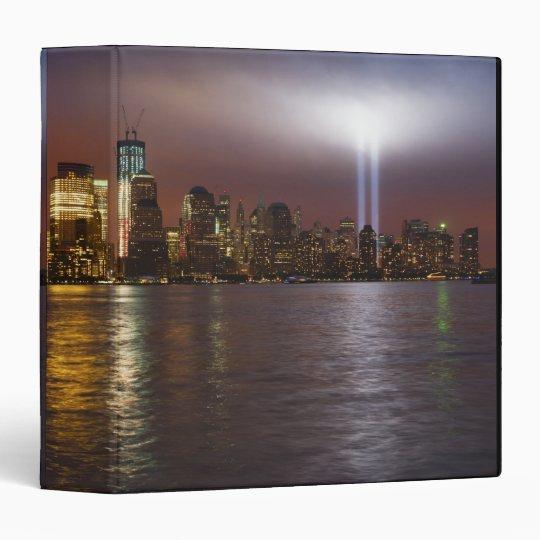 Manhattan Skyline 2 3 Ring Binder