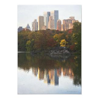 Manhattan Skyline 2 Card