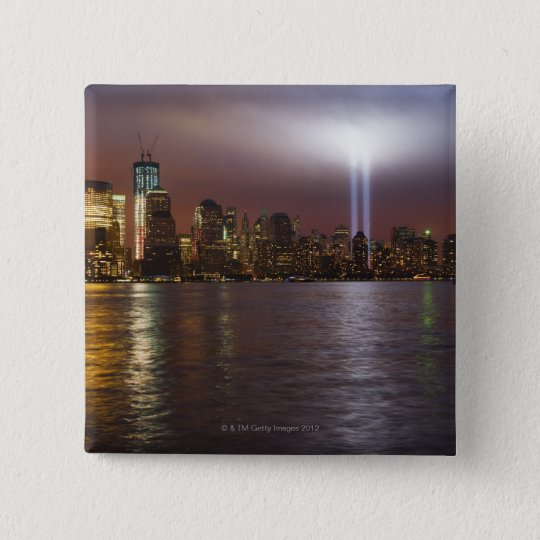 Manhattan Skyline 2 Pinback Button