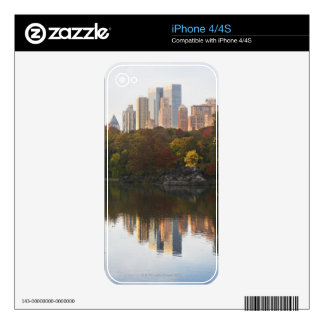 Manhattan Skyline 2 Skins For The iPhone 4S