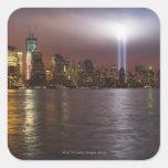 Manhattan Skyline 2 Square Sticker
