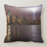Manhattan Skyline 2 Throw Pillow