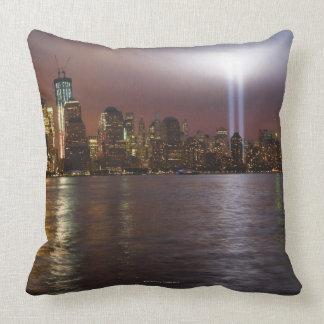 Manhattan Skyline 2 Throw Pillows