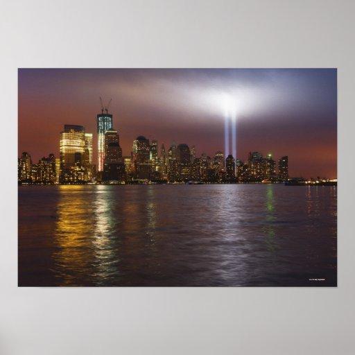 Manhattan Skyline 3 Posters