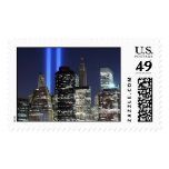 Manhattan Skyline and the Towers of Light Stamps