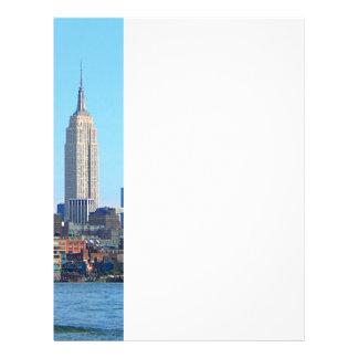 Manhattan Skyline as Seen From Hoboken, NJ Flyers