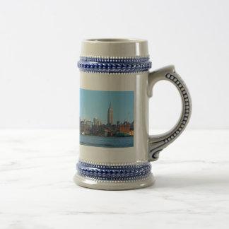 Manhattan Skyline as Seen From Hoboken, NJ Coffee Mugs