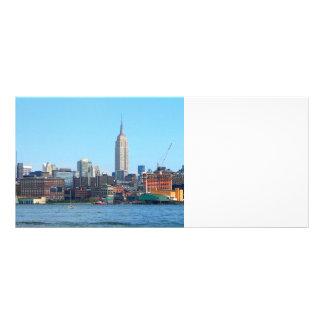 Manhattan Skyline as Seen From Hoboken, NJ Rack Card