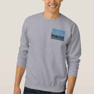 Manhattan Skyline as Seen From Hoboken, NJ Sweatshirt