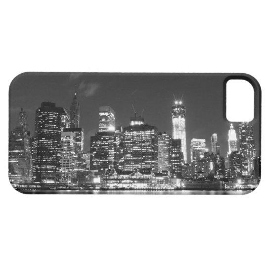 Manhattan Skyline At Night, New York City iPhone SE/5/5s Case