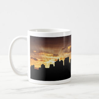 Manhattan Skyline Basic White Mug