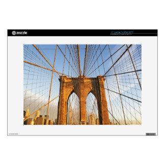 Manhattan Skyline Laptop Decal