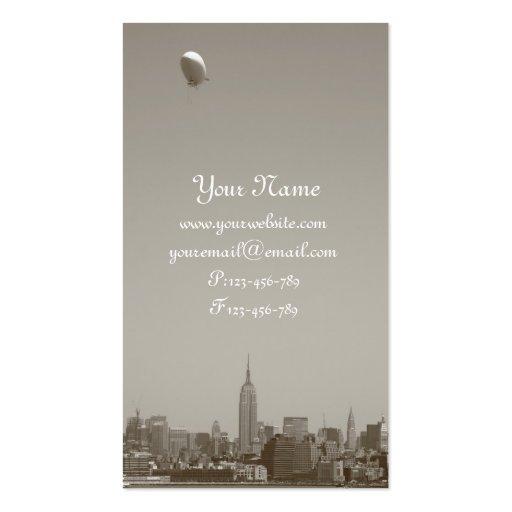 Manhattan Skyline New York City Business Cards