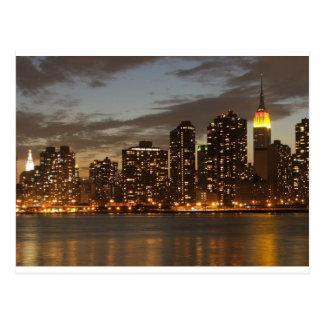 Manhattan Skyline, New York City, New York, USA Postcard