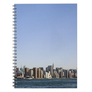 Manhattan Skyline, New York City, NY, USA Notebook