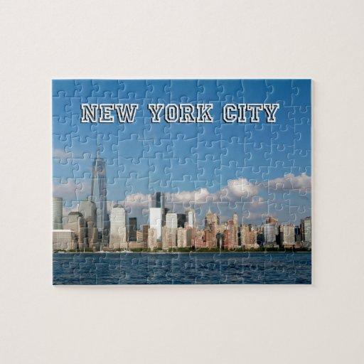Manhattan Skyline New York City USA Jigsaw Puzzle